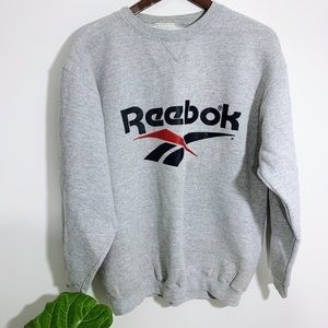 Vintage Style Reebok Crewneck Sweater